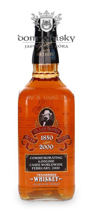 Jack Daniel's 1850-2000 150 Birthday / 45% / 0,75l