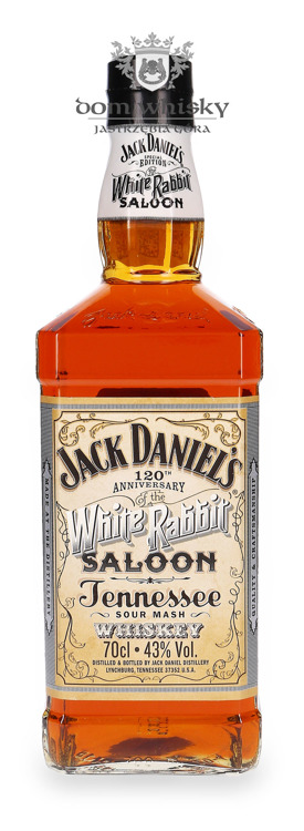 Jack Daniel's White Rabbit Saloon 120 Anniversary / 43% / 0,7l