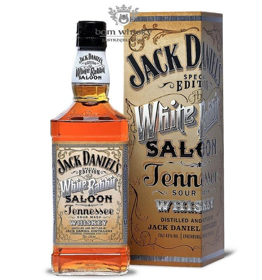 Jack Daniel's White Rabbit Saloon Special Edition /43%/0,7l