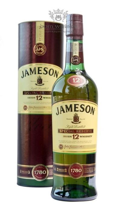 Jameson 12 letni / 40% / 0,75l