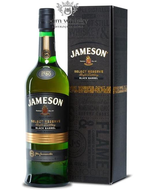 Jameson Select Reserve Black Barrel / 40% / 0,7l