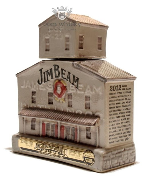 Jim Beam 8 letni Stillhouse Decanter Porcelana / 43% / 0,75l