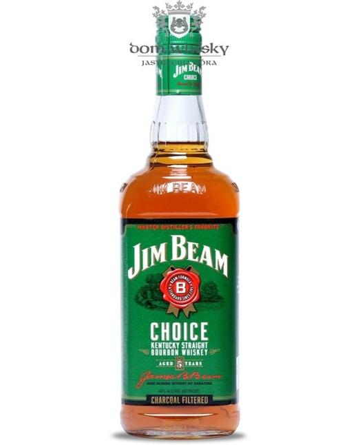 Jim Beam Choice 5 letni / 40% / 0,75l