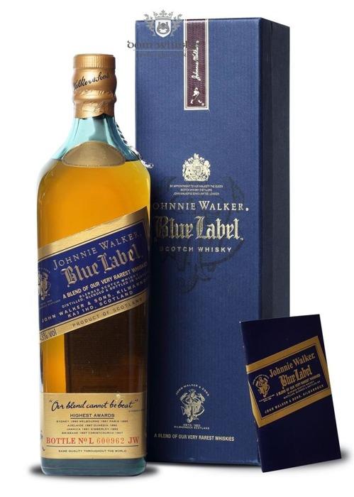 Johnnie Walker Blue Label Review No L 600962 / 43% / 0,75l
