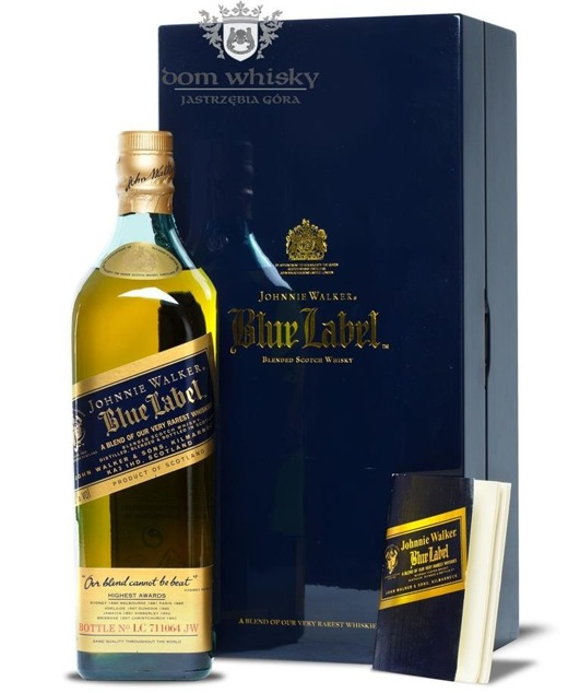 Johnnie Walker Blue Label Review No LC 711064 / 43% / 0,7l