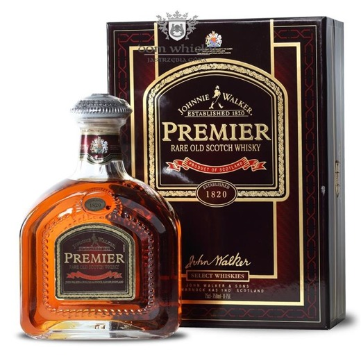 Johnnie Walker Premier / Bez opakowania / 43% / 0,75l