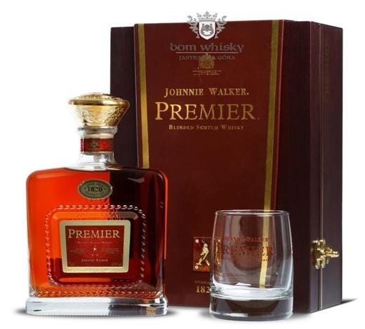 Johnnie Walker Premier / zestaw / 43% / 0,75l