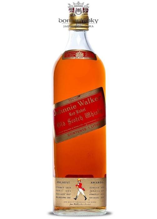 Johnnie Walker Red Label 1970's / 43% / 1,0l