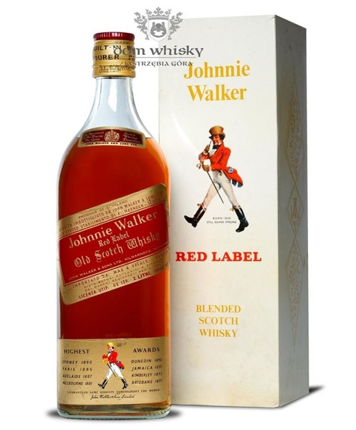 Johnnie Walker Red Label / 40% / 2,0l