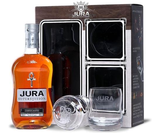 Jura Superstition (szklanki degustacyjne gratis) /43%/0,7l
