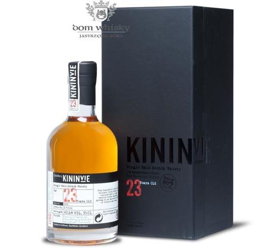 Kininvie 23-letni (D.1990, B.2014) Batch No. 2 / 42,6% / 0,35l