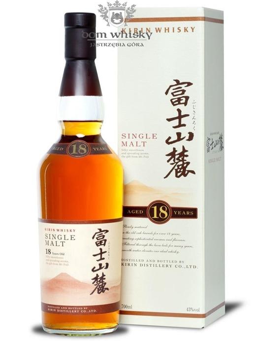 Kirin Fujisanroku Single Malt 18 letni / karton / 43% / 0,7l