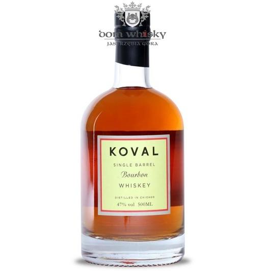Koval Single Barrel Bourbon Whiskey / 47% / 0,5l