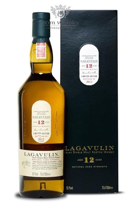 Lagavulin 12-letni Cask Strength, 2012 Release /56,1%/0,7l