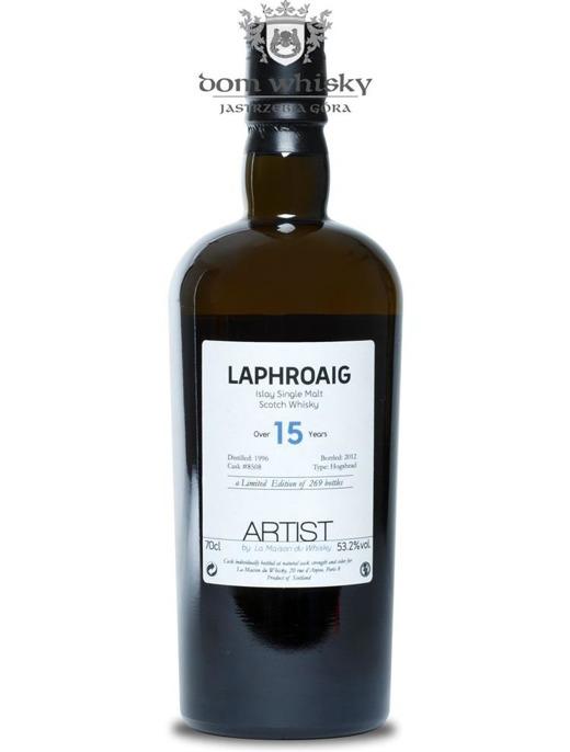 Laphroaig 15-letni Cask 8508(D.1996,B.2012)Artist # 002/53,2/0,7
