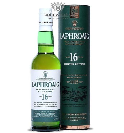 Laphroaig 16-letni /43%/0,35l