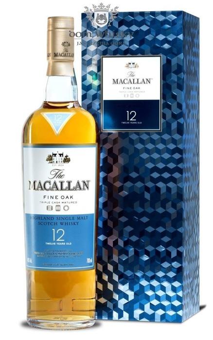 Macallan 12-letni Fine Oak (Triple Cask Matured) /GB/ /40%/0,7l