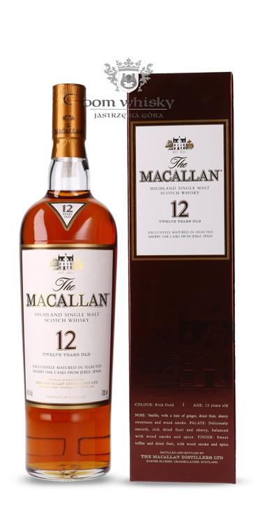 Macallan 12-letni Sherry Oak Cask From Jerez / 40% / 0,7l