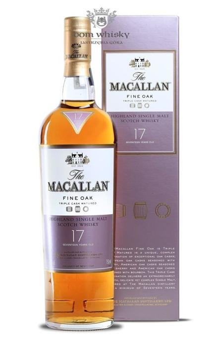 Macallan 17-letni Fine Oak (Triple Cask Matured) /43%/0,75l