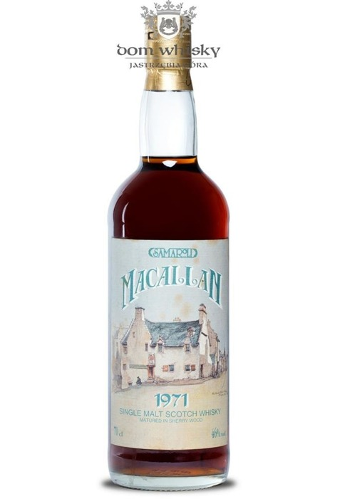 Macallan 1971 Sherry Wood (Bottled 1995) Samaroli /46%/0,7l