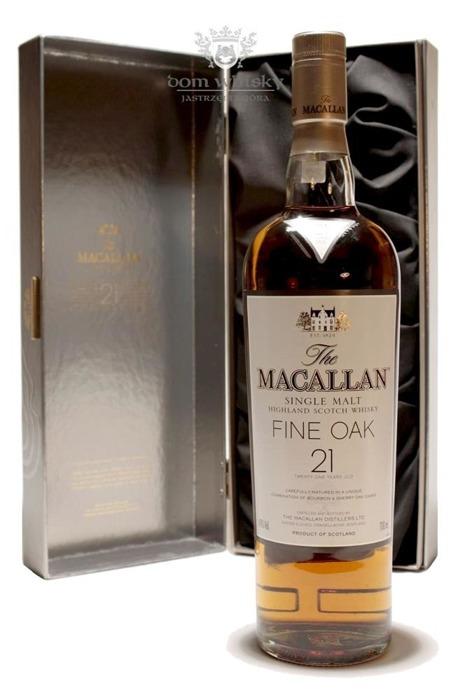 Macallan 21-letni Fine Oak (Bourbon & Sherry Casks) /43%/0,7l