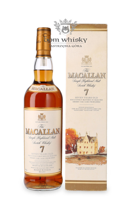 Macallan 7-letni Matured in Sherry Oak /40%/0,7l