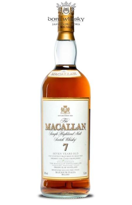 Macallan 7-letni (brak opakowania) /40%/1,0l