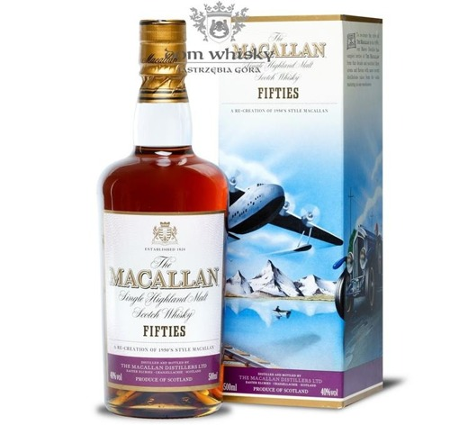 Macallan Fifties (The Travel Series) /40%/0,5l