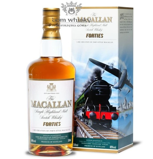 Macallan Forties (The Travel Series) /40%/0,5l