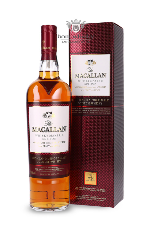 Macallan Whisky Maker's Edition (1824 Collection) /42,8%/ 0,7l