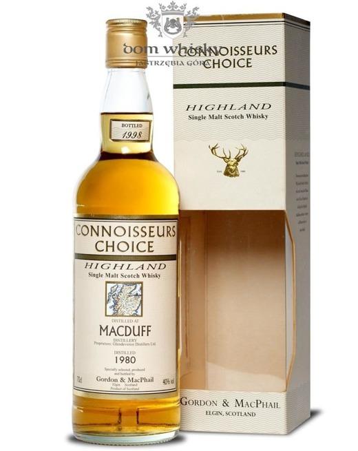 Macduff 1980 (Bottled 1998) Connoisseurs Choice/ 40%/ 0,7l