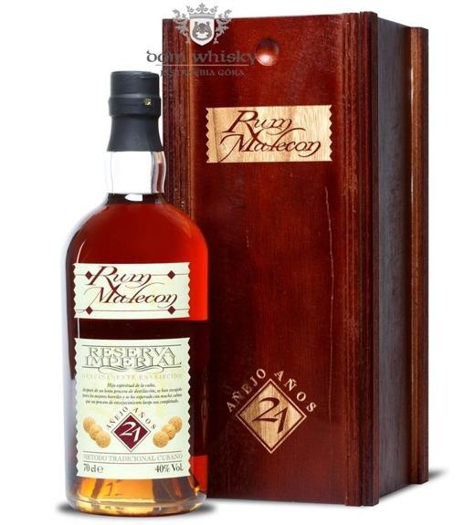 Malecon 21 letni Rum Reserva Imperial Anejo /Panama/ 40% / 0,7l