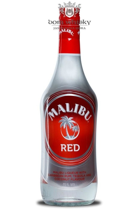 Malibu RED, Caribbean Rum,Tequila, Coconut Flavour / 35% / 0,7l