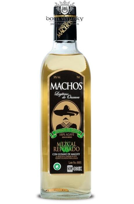 Mezcal Reposado Con Gusano Machos / 38% / 0,7l