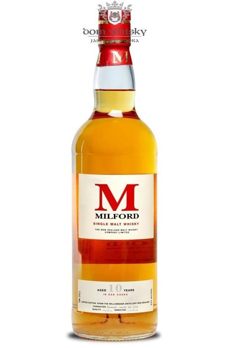 Milford Malt 10 letni (Nowa Zelandia) / 43% / 0,75l