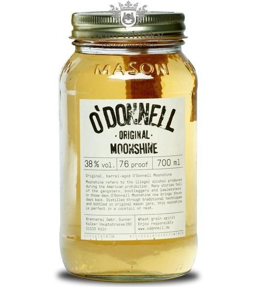 O'DONNELL Moonshine Original Wheat Grain Spirit / 38% / 0,7l