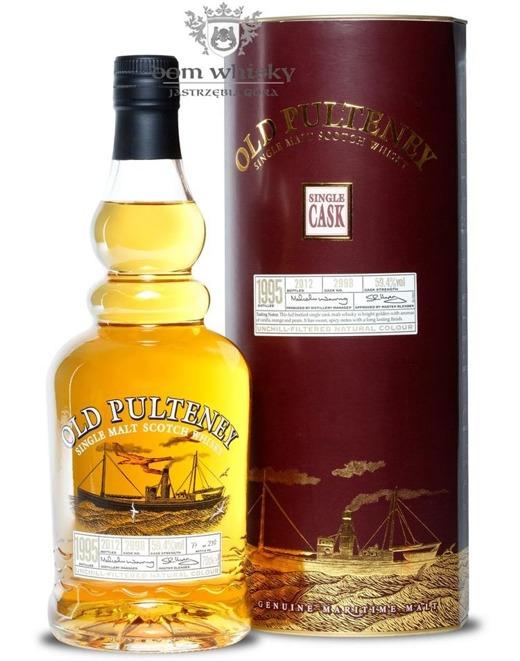 Old Pulteney 1995 Single Cask (Bottled 2012) / 59,4%/ 0,7l