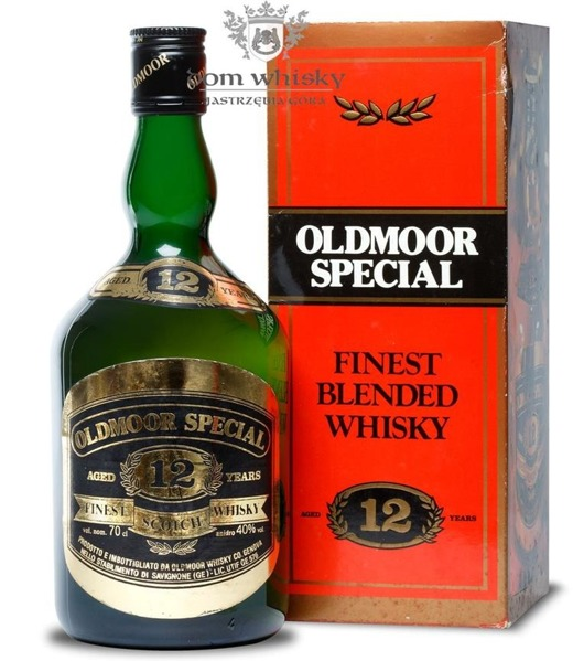 Oldmoor Special 12-letni Finest Scotch Whisky / 40% / 0,7l