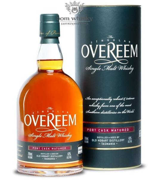 Overeem Single Malt Port Cask OHD-015 (Tasmania) / 43% / 0,7l
