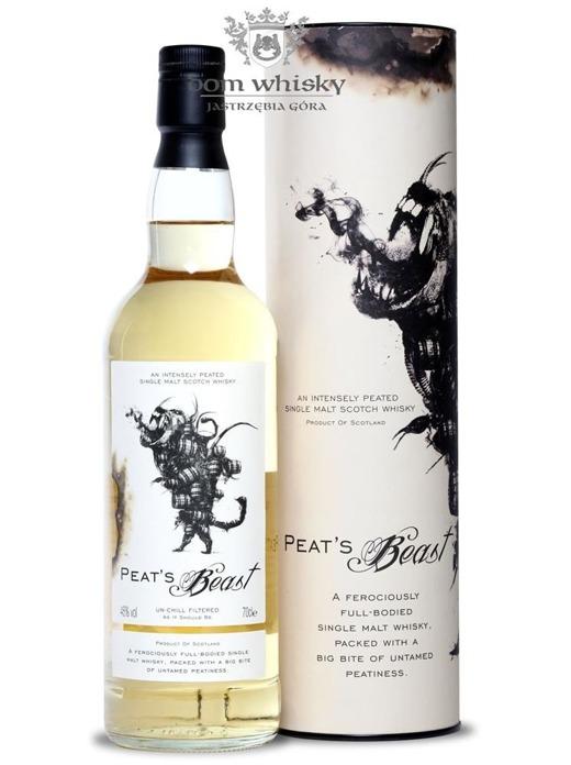 Peat's Beast Single Malt / 46% / 0,7l