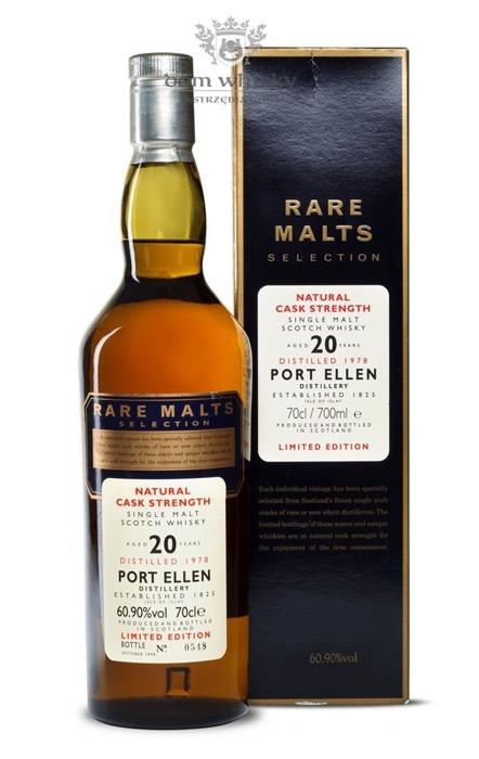 Port Ellen 20-letni D.1978 B.1998 Rare Malts / 60,90% / 0,7l