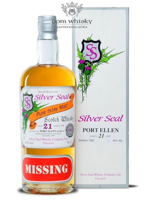 Port Ellen 21 letni D.1982 B.2003 Silver Seal / 46% / 0,7l