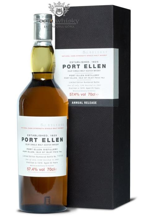 Port Ellen 25 letni D.1979 B.2005 5th Release / 57,4% / 0,7l
