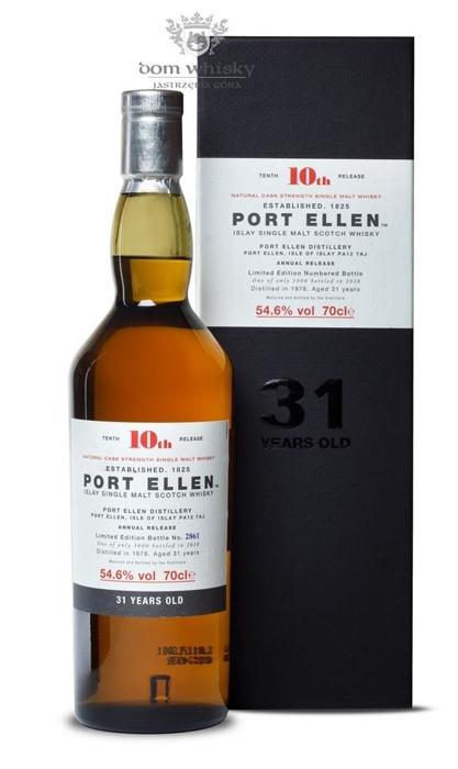 Port Ellen 31 letni D.1978 B.2010 10th Release / 54,6% / 0,7l