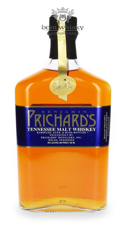 Prichard's Tennessee Single Malt Whisky  / 40% / 0,75l