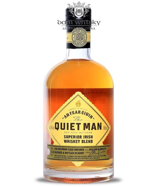 Quiet Man Traditional Blended Irish Whiskey / 40% / 0,7l