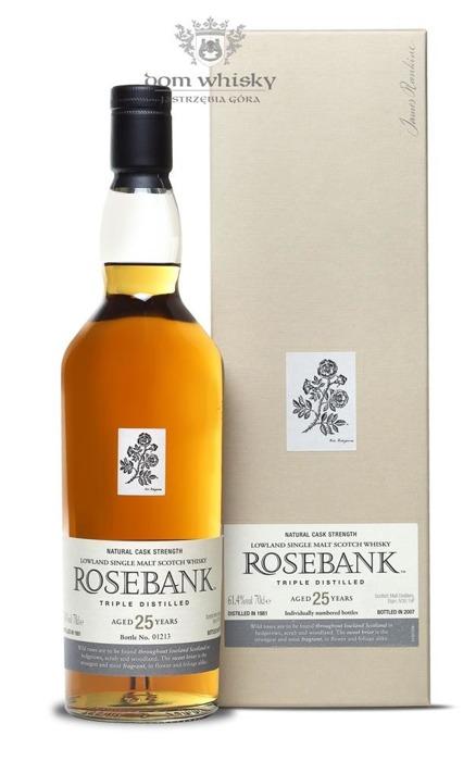 Rosebank 25-letni (D.1981, B.2007) / 61,4% / 0,7l