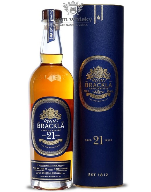Royal Brackla 21-letnia (Bottled 2015) /40%/0,7l