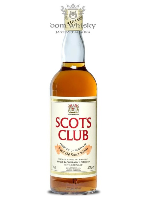 Scots Club Blended Scotch Whisky / 40% / 0,7l