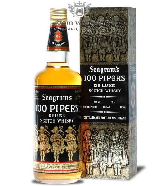 Seagram's 100 Pipers / Brak opakowania / 40% / 0,75l
